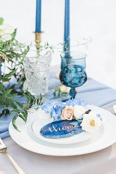 Trendy Wedding Themes In 2019 For Every Bridal Style ★ wedding themes geode wedding decor Beach Wedding Centerpieces, Beach Wedding Reception, Blue Wedding, Trendy Wedding, Wedding Table, Perfect Wedding, Snow Wedding, Beach Ceremony, Wedding Hair