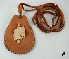 Native American Apache Indian Buckskin Medicine Bag