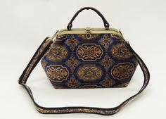 Carpet Bags Classic bag in Blue Chiraz Carpet Bag, Louis Vuitton Monogram, Range, Vintage, Classic, Pattern, Blue, Fashion, Derby
