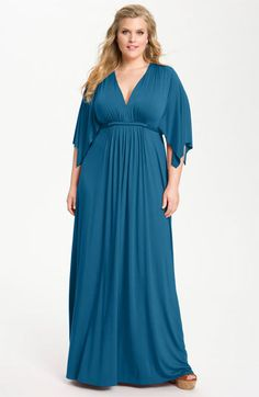 Rachel Pally White Label Long Caftan Dress (Plus) | Nordstrom - Simple and Perfect