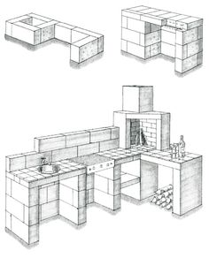 Bilderesultat for mure utepeis Grill Gazebo, Patio Grill, Grill Area, Backyard Pavilion, Backyard Gazebo, Build Outdoor Kitchen, Outdoor Kitchen Design, Bbq Shed, Modern Outdoor Fireplace