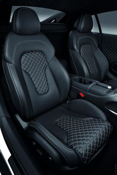 2013 Audi R8 V10 seats interior diamond stitch