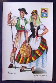 Resultado de imagen de trajes tradicionales de canarias