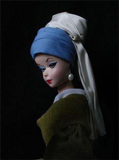 Barbie with the Pearl Earring
