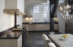 Keukens   Mooie stoere keuken