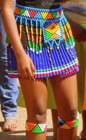 Traditional Zulu skirt <3 My Culture