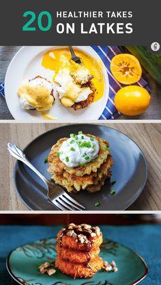 20 Healthier Twists on Potato Latkes #healthy #holidays