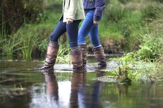 Now that Spring is here it's time to get your Dubarry boots on and venture into the country. Country Walk, Country Casual, Country Outfits, Country Living, Dubarry Boots, Spring Is Here, Equestrian Style, Spring Collection, Shoe Boots