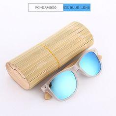 KITHDIA Bamboo HD Polarized Sunglasses - 7 Colors