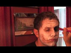 How to look like the Joker, Heath Ledger style. Im doing this on my friend Tim