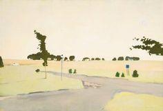 The Beginning of the Fields, 1973 | Fairfield Porter