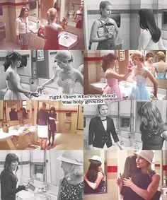 Faberry and bathroom conversations.. XD <3