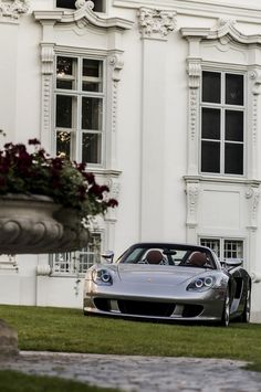 At the summer home with my Carrera GT...