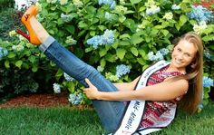 Congratulations to Harlie Dale, just crowned College Miss Majorette America 2013 - Go Hokies!