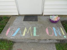 What Tanner is coming home to today.a water balloon fight Water Balloon Fight, Water Fight, Water Balloons, Water Party, 6th Birthday Parties, Backyard, Decor, Patio, Decoration