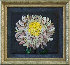 Mosaic.Хризантемы