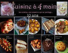 Les 271 Meilleures Images De Cuisine A 4 Mains Realisations En