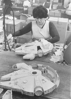 Making the Kenner toy in the factory
