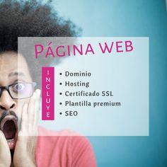 ¿Qué incluye el servicio de diseño web?   Página web (por supuesto) más ⬇️ :   🔹Dominio. El nombre de tu web.  🔹Hosting. Dónde estará alojada tu web.  🔹Certificado SSL. Seguridad para los usuarios.  🔹Plantilla premium. Con múltiples funcionalidades .  🔹SEO. Para que te encuentren en Google.   Todo incluido para que no tengas que preocuparte de nada más (que ya bastantes preocupaciones tenemos los autónomos 😅) y a un precio muy competitivo (desde 699€ + IVA 😎)  … Seo, Google, Certificate, Template, Design Web, Safety, Names, Plants