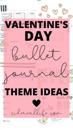 Check out these pretty Valentine's Day bullet journal themes! Start planning out your February by using these bujo spreads for inspiration. February Bullet Journal, Bullet Journal For Beginners, Bullet Journal Hacks, Bullet Journal How To Start A, Bullet Journal Themes, Bullet Journal Spread, Bullet Journal Layout, Bullet Journal Inspiration, Bullet Journals