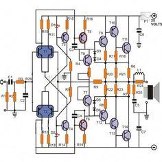 2N3055 MJ2955 Booster Transistor Circuit in 2019 Summer