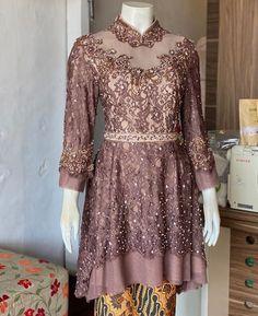 Model Kebaya Brokat Modern, Kebaya Modern Hijab, Kebaya Hijab, Kebaya Dress, Dress Pesta, Kebaya Muslim, Dress Brukat, Kebaya Wedding, Batik Fashion