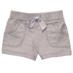 French Terry Pull-On Shorts | Bottoms Shorts & Skirts