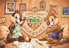 D-200-997 Tenyo Disney characters Chip n Dale Japan Jigsaw Puzzles