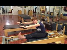 Overhead with Magic Circle on Reformer - Lesley Logan Pilates - YouTube