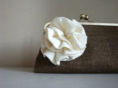 Rosette Purse Bag