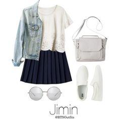 Disneyland with Jimin