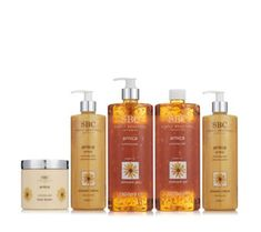 QVCUK TSV Offer 28/12/17... 235394 - SBC 5 Piece Arnica Favourites Collection  QVC PRICE: £70.00 - NB: RRP 1 x ltr Gel £55.00 TSV Price: £32.98 + P&P: £5.95   including two super-sized bottles of the bestselling Arnica Skincare Gel, two Arnica Shower Cremes, and the brand new Arnica Body Butter. Infused with essential oils, shea butter and your favourite key ingredient, arnica; now's the time to stock up on your most-used skincare formulas.
