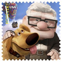 """The US Postal Service rolled out a new set of Forever Stamp designs titled """"Send a Hello"""", which features characters from some of the most recent or famous Pixar films."""