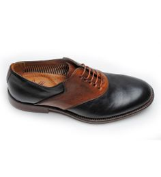 Decatur Saddle - Black/Tan - Sale Items - Featured - Men's