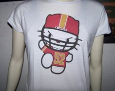 49ers Kitty Willis 52 Ladies Fitted