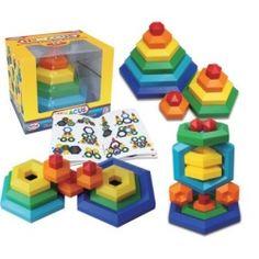 Hexacus, építőjáték 2 éves kortól -  Popular Plaything 5.990.-