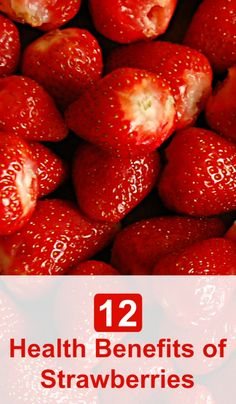 The health benefits of strawberries include proper brain function, improved eye care, relief from high blood pressure, arthritis, gout and various cardiovascular diseases. Here are 12 Health Benefits of #Strawberries - Selfcarers