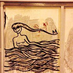 Leva a mar. #pintura #aracaju