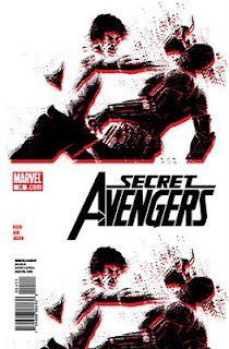 Secret Avengers #18 by David Aja