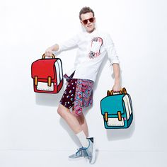 """WIN this """"Spaceman"""" Bag by JumpFromPaper!"""
