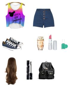 Hétköznapi by tamihoran on Polyvore featuring rag & bone, Converse, Coach, Shiseido, HoneyBee Gardens and Essie
