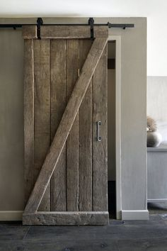 My Dream Barn Door … in mini version Beste Reisezeit Thailand, Happy New Home, Barn Door Hardware, Interior Design Living Room, Interior And Exterior, Home Goods, New Homes, Sweet Home, Bedroom Decor