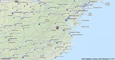 Map of Virginia | MapQuest