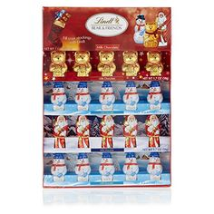 Lindt Chocolate Holiday Chocolate Figures Novelty Pack, 6.8 Ounce - http://mygourmetgifts.com/lindt-chocolate-holiday-chocolate-figures-novelty-pack-6-8-ounce/