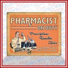 pharmacist on duty quot sometimes you need a bitter pill to