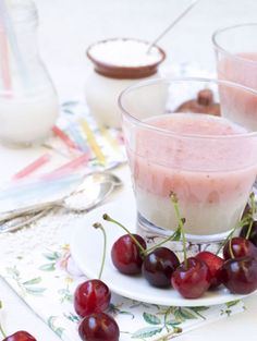 tapioca pudding - tapioca, rice milk, vanilla, honey, fruit