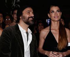 Alinne Moraes assiste ao clipe da novela com o marido Mauro Lima (Foto: Inácio Moraes/Gshow)