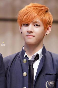 I loved V with his orange hair!!!!!!