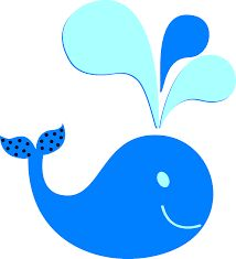 little blue whale clip art free clip art clip art for my boys rh pinterest com Blue Whale Art baby blue whale clipart