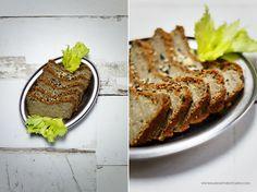 Leśny pasztet wegański – z czerwonej soczewicy, kaszy jaglanej i suszonych grzybów | Karo in the Kitchen